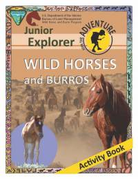 Junior Explorer Wild Horses and Burros Activity Book