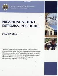 Preventing Violent Extremism in Schools