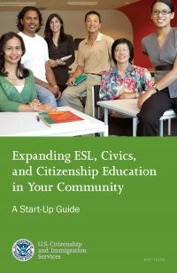 Expanding ESL Civics and Citizenship Education in Your Community