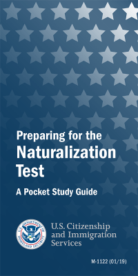 Preparing For The Naturalization Test: A Pocket Study Guide