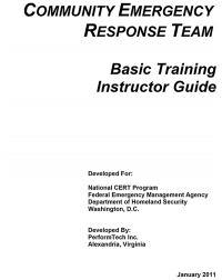 Cert Train-trainer Instructor Guide
