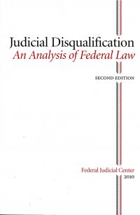 Judicial Disqualification: An Analysis of Federal Law