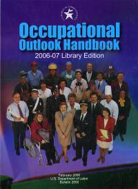 Occupational Outlook Handbook 2006-07 (Clothbound)