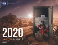 2020 Explore Science(NASA Calendar)