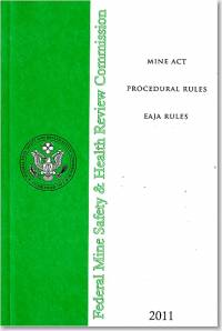 Mine Act Procedural Rules: EAJA Rules 2011