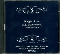 The Budget of the U.S. Government, Fiscal Year 2010 (CD-ROM)