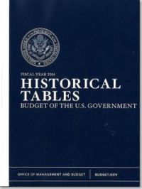 Fiscal Year 2014 Historical Tables, Budget of the U.S. Government
