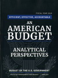 Analytical Perspectives, Budget Of The U.s. Government 2019
