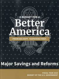 Major Savings And Reforms, Budget 2020