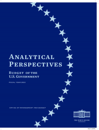 Budget of The United States Government, Analytical Perspectives, Fiscal Year 2022