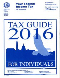 Your Federal Income Tax for Individuals: Tax Guide 2016 for Individuals (IRS Publication 17)