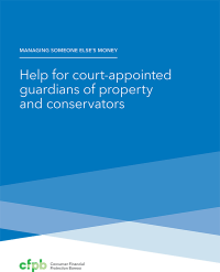 Help for Court-Appointed Guardians of Property and Conservators