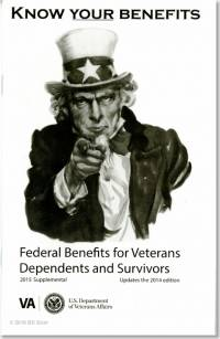 Federal Benefits for Veterans, Dependents, and Survivors 2015 Supplemental
