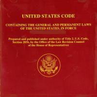 United States Code, Containing the General and Permanent Laws of the United States, in Force on January 3, 2007 (CD-ROM)