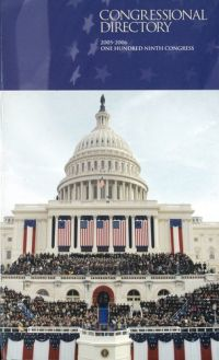 Official Congressional Directory, 2005-2006, 109th Congress, Convened January 4, 2005 (Clothbound)