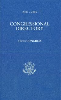 Official Congressional Directory, 110th Congress, 2007-2008 (Clothbound Edition)