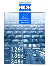 Effects of Gasoline Prices on Driving Behavior and Vehicle Markets: A CBO Study