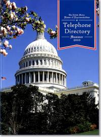 United States House of Representatives Telephone Directory, Summer 2010