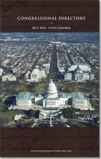 Official Congressional Directory 113th Congress (Paperbound)