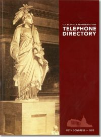 U.S. House of Representatives Telephone Directory 2013