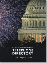 U.S. House of Representatives Telephone Directory 2014