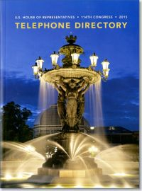 U.S. House of Representatives Telephone Directory 2015