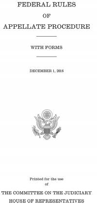 Federal Rules of Appellate Procedure, 2016