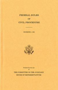 Federal Rules Of Civil Procedure, 2016