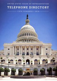 United States House of Representatives Telephone Directory, 115th Congress, 2018