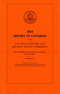 Congressional Executive Commission on China Annual Report 2016