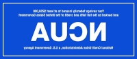 NCUA Insurance Decals (English Version)
