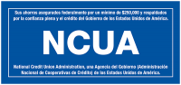 NCUA Insurance Decals (Spanish)
