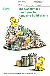Consumer's Handbook for Reducing Solid Waste