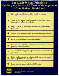 The Merit Systems Principles: Guiding the Fair and Effective Management of the Federal Workforce