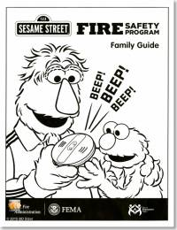 Sesame Street Fire Safety Program Family Guide (Package of 10)