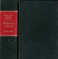 Public Papers of the Presidents of the United States, William J. Clinton, 2000-2001, Book 1, January 1 to June 26, 2000