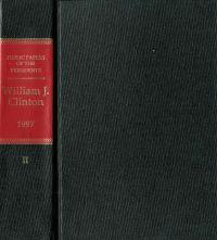 Public Papers of the Presidents of the United States, William J. Clinton, 1997, Book 2, July 1 to December 31, 1997