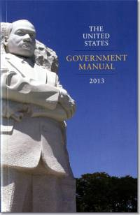 United States Government Manual 2013