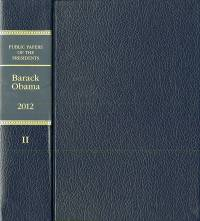 Public Papers of the Presidents of the United States: Barack Obama, 2012, Book 2, July 1, Through December 31, 2012