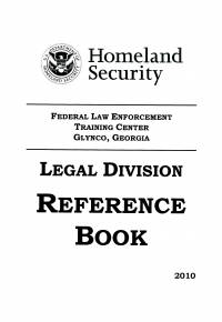 Legal Division Reference Book, 2010