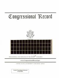 Congressional Record, V. 162, No. 5, January 8, 2016 (Microfiche)