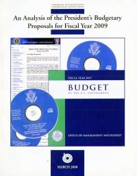 Analysis of the President's Budgetary Proposals for Fiscal Year 2009