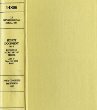 United States Congressional Serial Set, Serial No. 14876, Senate Report No. 301, U.S. Intelligence Community's Prewar Intelligence Assessments on Iraq, Report of Select Committee on Intelligence