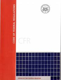 Code of Federal Regulations Subscription Service 2017 Microfiche