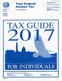 2017 Irs Publication 17 (your Federal Income Tax For Individuals)