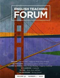 V.56 #1,2018; English Teaching Forum