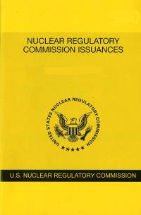 V.87 #6 June 2018; Nuclear Regulatory Commission Issuances  Nureg-0750