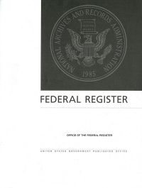 Federal Register, V. 82, No. 1, Book 2, January 3, 2017