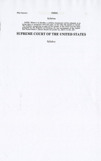 18-916; 2019 Supreme Court The Individual Slip Opinions Term Of Court