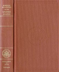 Foreign Relations of the United States, 1964-1968, V. XXIII, Congo 1960-1968